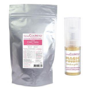 Glue food use CMC 300 g + Golden...