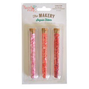 Glitter paillettes - rosa, corallo,...