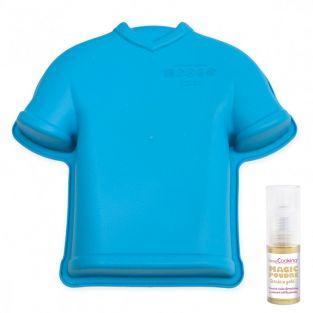 Silikon-Kuchenform Fußball-Shirt +...