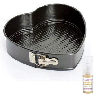 Heart Cake pan with hinge 26cm +...