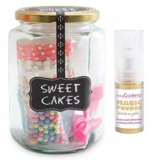 Konditorei-Set Süße Cupcakes +...