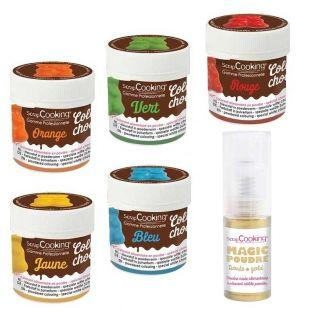 5 colorants liposolubles...