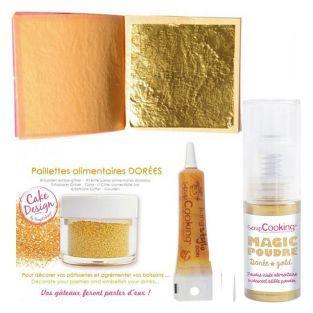 Kit cucina creativa d'oro + Polvere...
