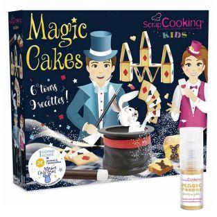 Magic cakes box + Golden edible powder