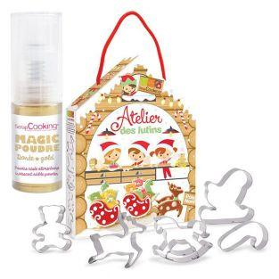 Goblins pastry kit + Golden edible...