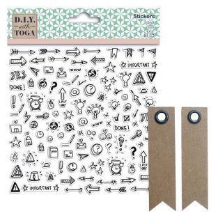 115 stickers icônes pour Bullet...