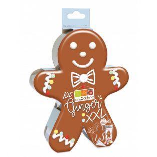 Coffret DIY - Mon gâteau Gingerbread...
