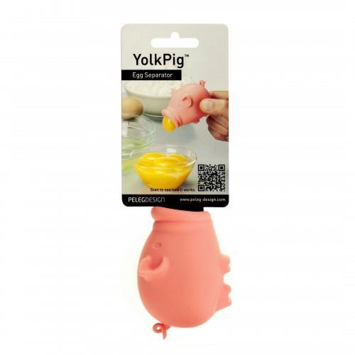 Egg separator silicone yolkpig