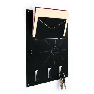 Magnetic board for letters and keys