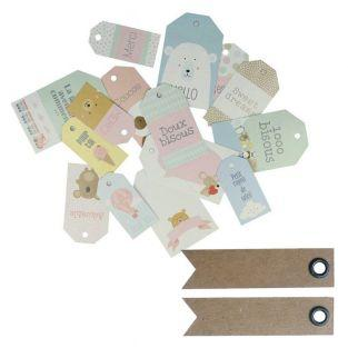 15 scrapbooking tags - Adorable...