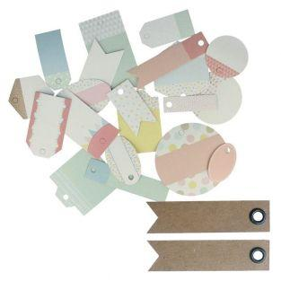 21 scrapbooking tags - Adorable...