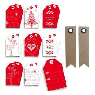 Scandinavian Christmas Tags + 20...