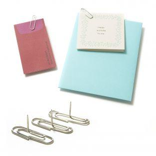 Tacks Paper clips