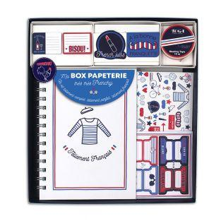 Coffret Papeterie - Carnet Frenchy
