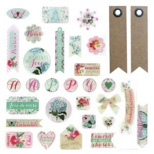 29 scrapbooking epoxy stickers -...