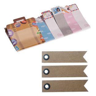 Memo-stickers Voyages + 20 étiquettes...