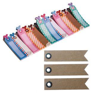 Memo-stickers Bookmark + 20 pennant...