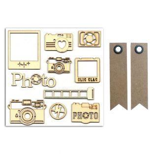 10 Holzformen für Fotografie...