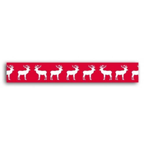 Masking tape Scandinavian reindeer