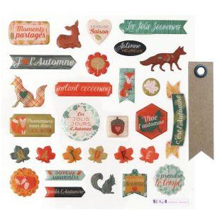 29 epoxy stickers for scrapbooking -...