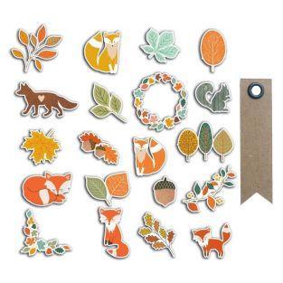 20 dekorative Formen für Scrapbooking...