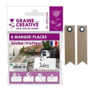 8 marque-places Globe-trotteur + 20...
