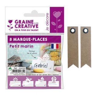 8 marque-places Petit marin + 20...