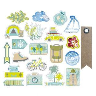 20 cut shapes for scrapbooking...