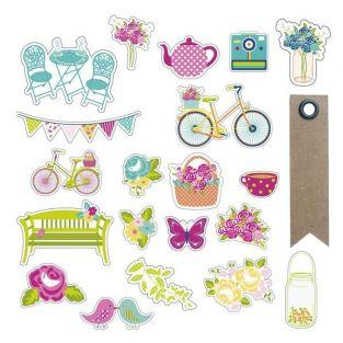 20 cut shapes for scrapbooking -...