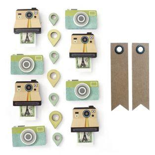 15 stickers polaroid effet 3D + 20...