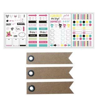 131 Stickers para Bullet Journal -...