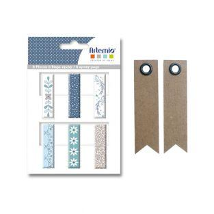 6 Epoxy clothespins - frosted + 20...
