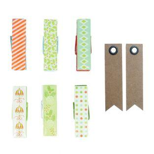 6 Epoxy clothespins - Christmas + 20...