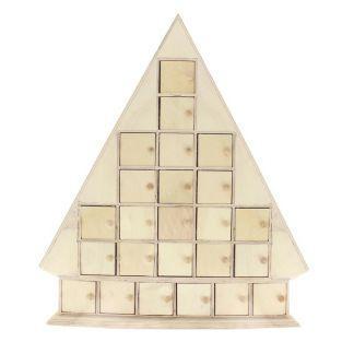 Adventskalender Weihnachtstanne 51 x...