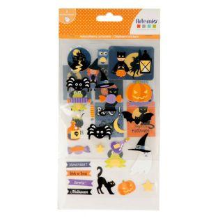 Halloween 3D sticker kit