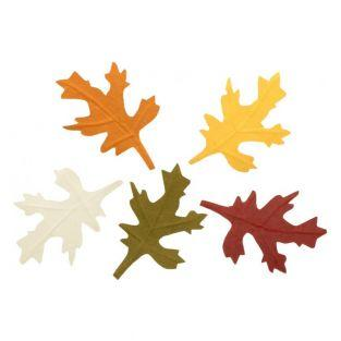 10 paper tree leaves - Autumn