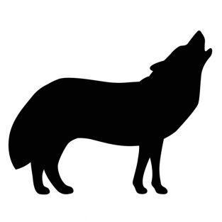 Matrice de découpe et d'embossage - Loup
