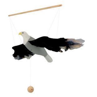 Móvil de madera 56 cm - Águila