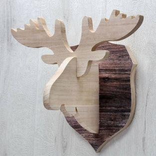 Caribou head trophy - Wall decoration...