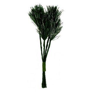 Rama de abeto verde 16 cm