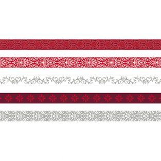 5 masking tapes 5 m x 1,5 cm - Barroco