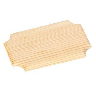 Holzwandplatte zum Dekorieren 16 x 10 cm