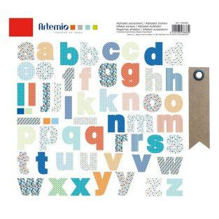 Alphabet colored stickers + 20...