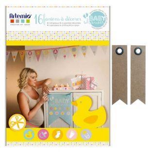 Caja para Babyshower + 20 etiquetas...