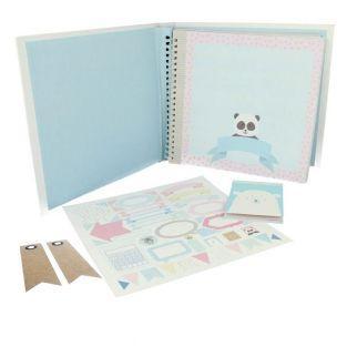 Set Baby Album - Entzückende Tiere +...