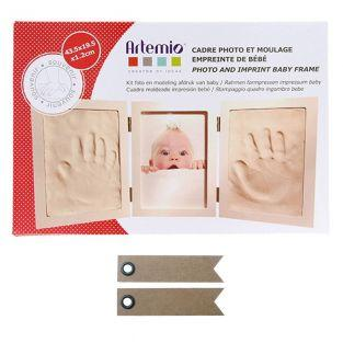 Kit modelado huellas de bebé + 20...