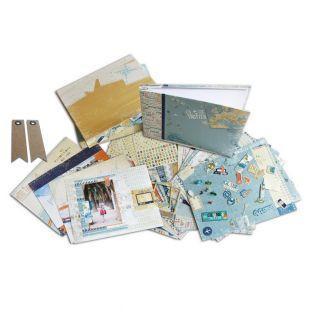 Kit Scrapbooking Voyages + 20...