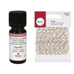 Kerzenduftöl 10 ml Vanille +...