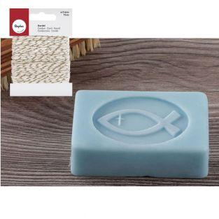 Rubber stamp for DIY Soap Fish +...