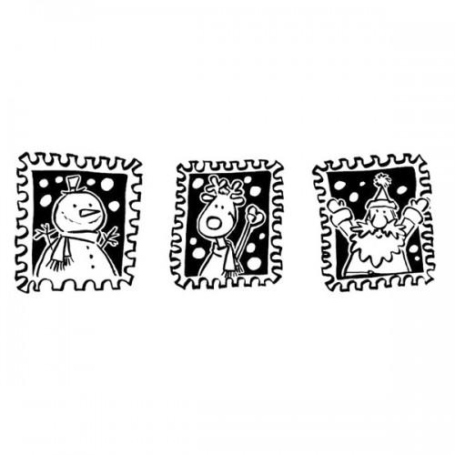 Wooden stamp - Christmas Stamps